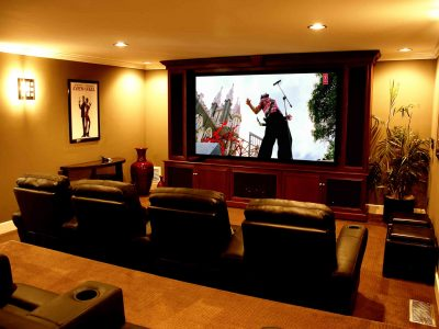 No matter where you purchased your technology, our professionals can install and set up your home theater system.  Our training is extensive. Whether you're mounting a new flat panel TV, installing speakers on the wall, or need help consolidating all your remotes into one, our experienced installers have the know-how to get things done right.